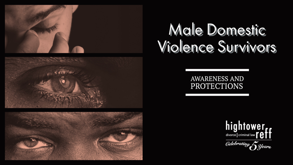 Male domestic violence survivors