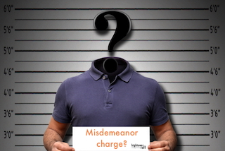 three things you should know misdemeanors