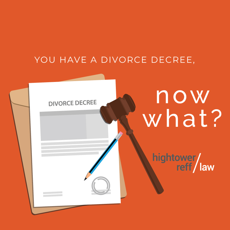 What To Do After Divorce Is Final